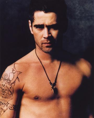 Colin Farrell Topless Portrait