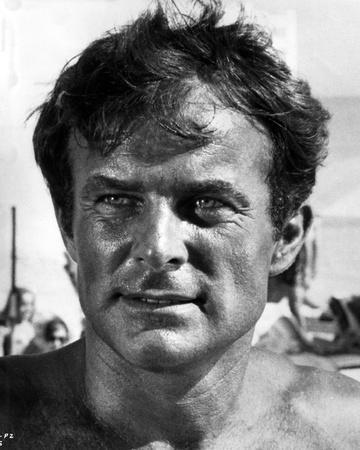 Robert Conrad Close Up Portrait
