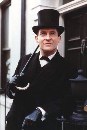 Jeremy Brett in Tuxedo with Hat