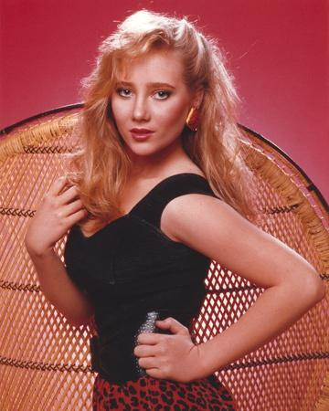 Anne Heche Portrait in Black Dress