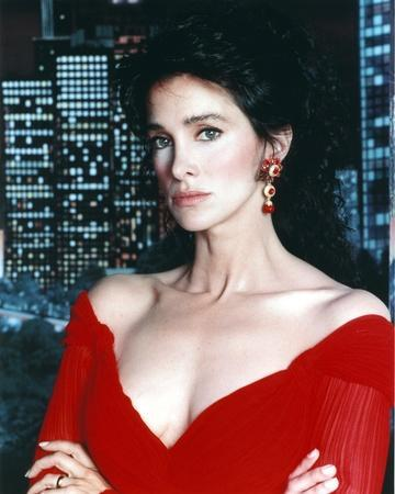 Connie Selleca in Red Dress Portrait