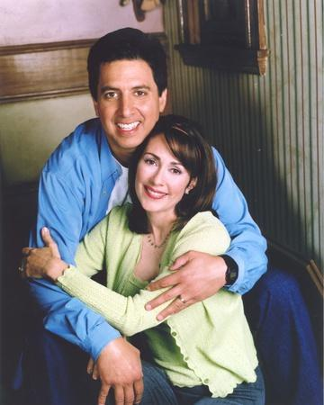 Portrait of Patricia Heaton with Her Husband