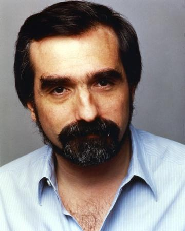 Martin Scorsese Close-up Portrait with Beard