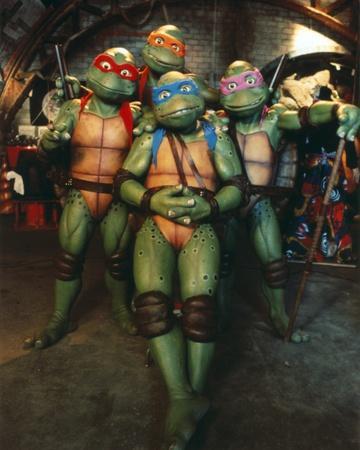 Ninja Turtles Group Picture