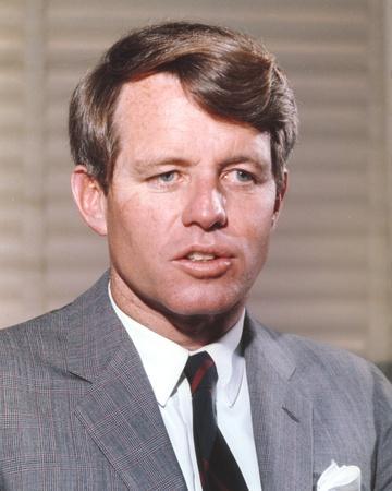 Robert Kennedy Close Up Portrait