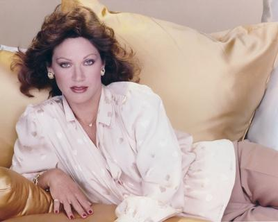 Pamela Hensley posed on Couch