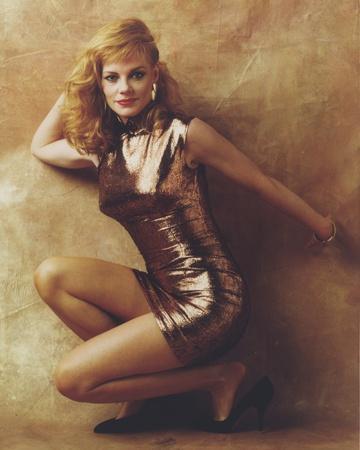 Marg Helgenberger posed in Sheer Dress