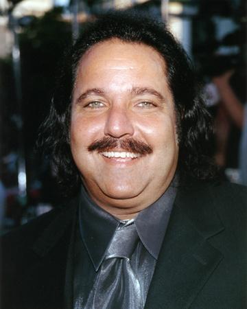 Ron Jeremy Close Up Portrait
