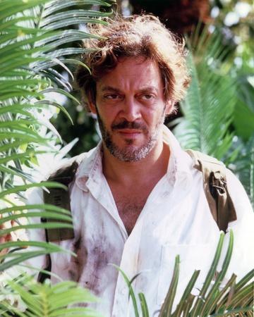 Raul Julia in White Sleeve