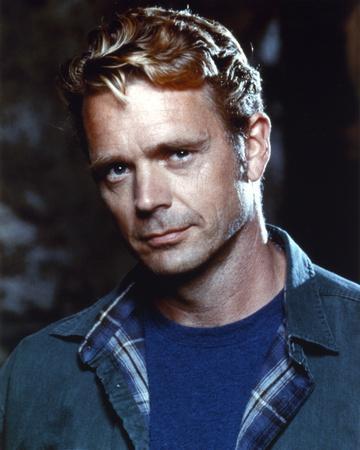 John Schneider in Blue Top Portrait