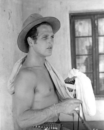Paul Newman Posed in Topless