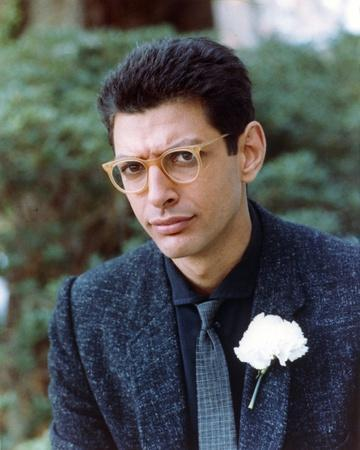 Jeff Goldblum Posed in Polo with Neck Tie