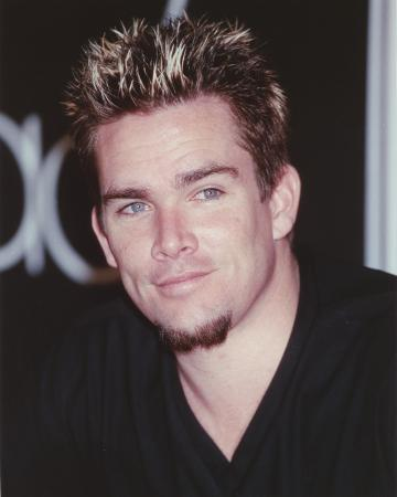 Mark McGrath in Black Portrait