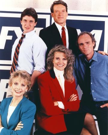 Murphy Brown Group Picture Portrait