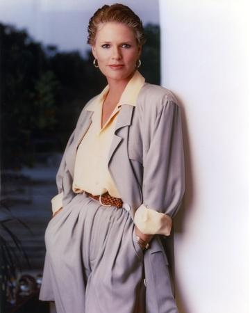 Sharon Gless in a Long Sleeve Top Leaning Portrait