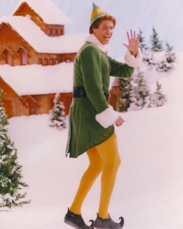 Will Ferrell Posed in Dwarf Outfit