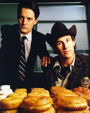 Twin Peaks Portrait With Donut