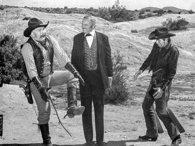 A scene from Blazing Saddles.