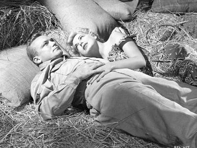 A scene from The Naked and the Dead.