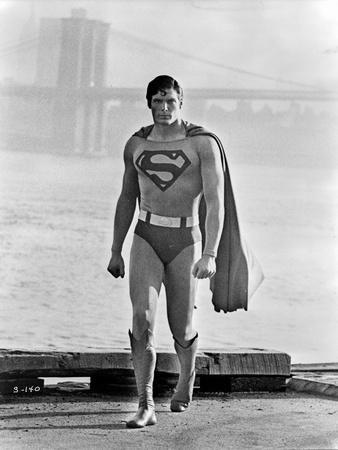 A scene from Superman.