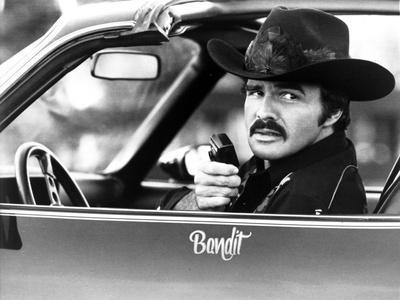 Burt Reynolds Posed in Cowboy Suit With Walkietalkie