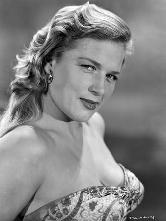 Denise Darcel Portrait in Classic