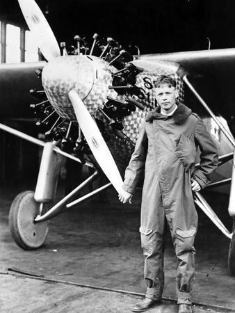 Charles Lindberg in Classic Portrait