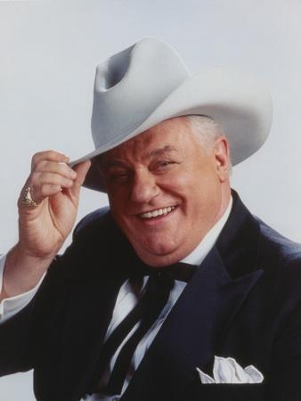 Charles Durning smiling Close Up Portrait