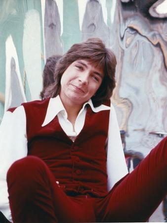 David Cassidy Posed in Red Jeans