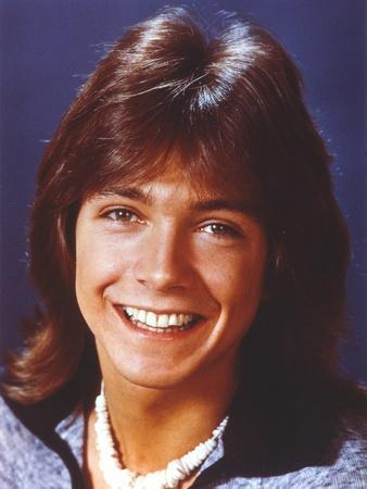 David Cassidy Posed in Blue Coat