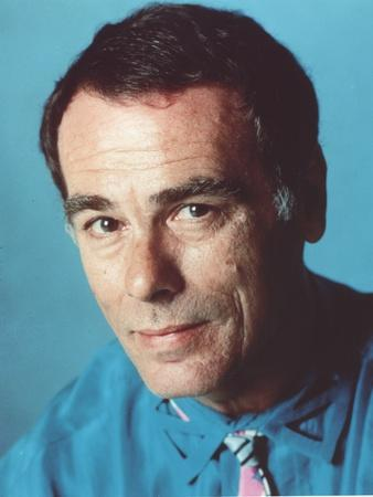Dean Stockwell Posed in Blue Shirt Portrait