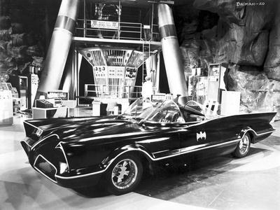 Batman Batmobile Portrait