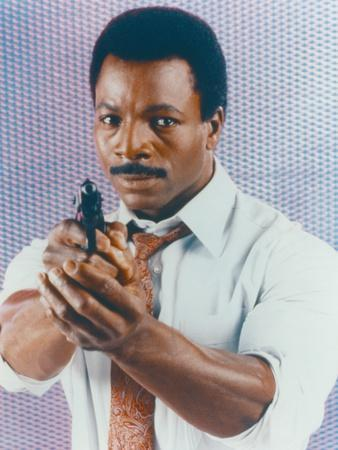 Carl Weathers Portrait in White Long Sleeves