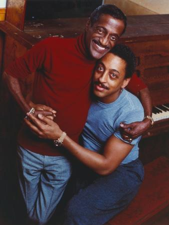 Gregory Hines Portrait with A Man