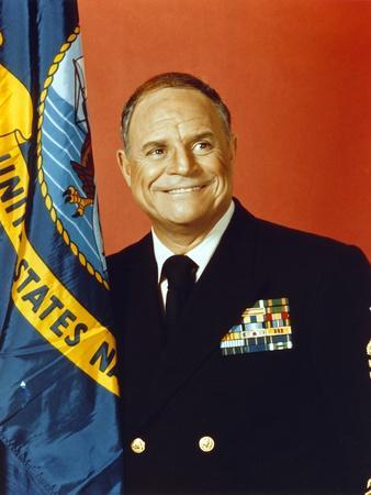 Don Rickles smiling in an Army Uniform