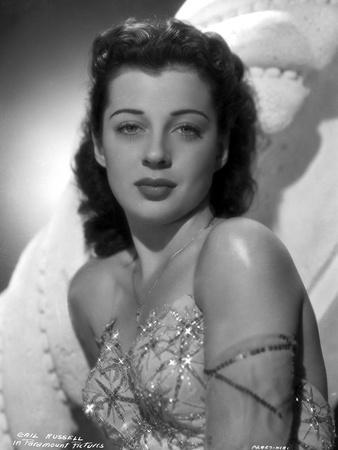 Gail Russell Posed in Corset