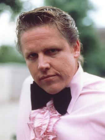 Gary Busey in Long Sleeves with Ribbon Close Up Portrait