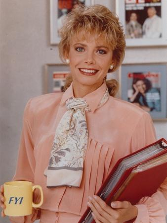Faith Ford smiling in Office Outfit Portrait