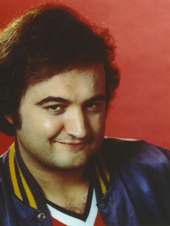 John Belushi smiling Close Up Portrait