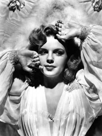 Judy Garland wearing a Night Gown