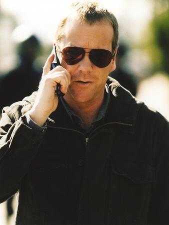 Kiefer Sutherland Calling in Portrait