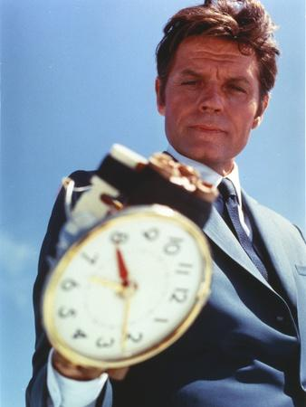 Jack Lord Portrait with A Watch