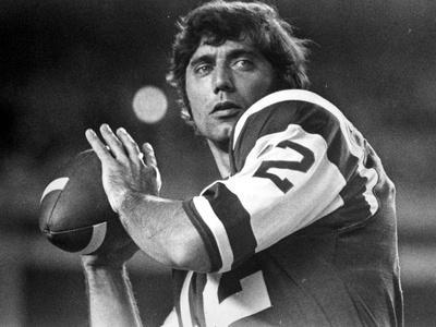 Joe Namath Playing Rugby in Rugby Attire