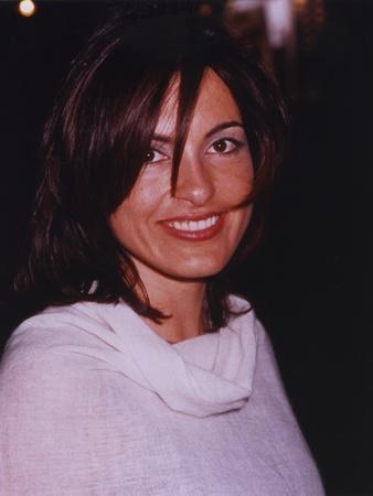 Mariska Hargitay Portrait in White Sweater
