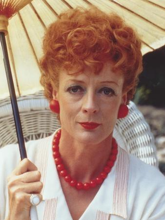 Maggie Smith Close-up Portrait