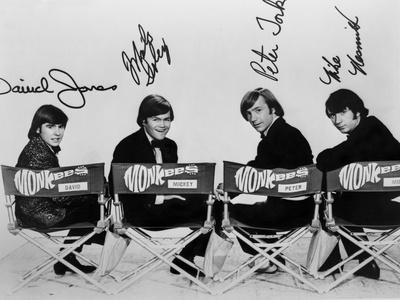 Monkees in Black With White Background