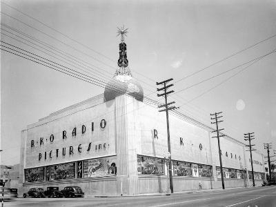 RKO Pictures studio.