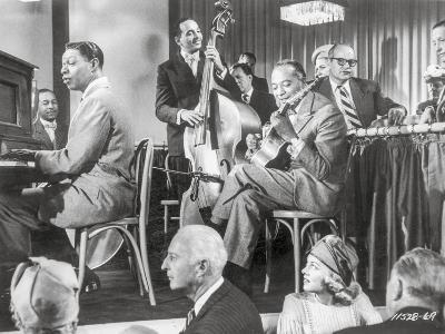 Saint Louis Blues Men Playing Musical Instrument