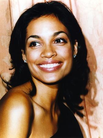 Rosario Dawson smiling Close Up Portrait