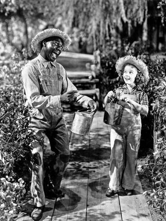 Shirley Temple in a Movie Scene